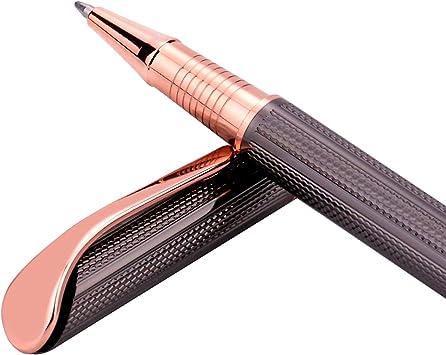 Rose Gold 1 Pack Pentel Libretto Roller Gel Pen K600PG-A Black Ink with Gift Box Pen 0.7mm