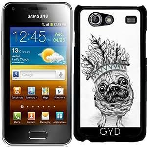 Funda para Samsung Galaxy S Advance (i9070) - pug indio by LouJah