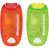 Nathan Sports Safety StrobeLight Bundle - 2-Pack - NS5078 (Tango Red/Sulfur Spring)