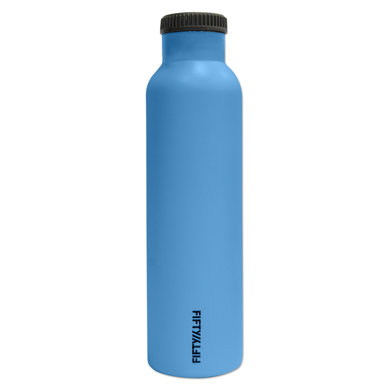 Fifty/Fifty Blue Vacuum-Insulated Stainless Steel