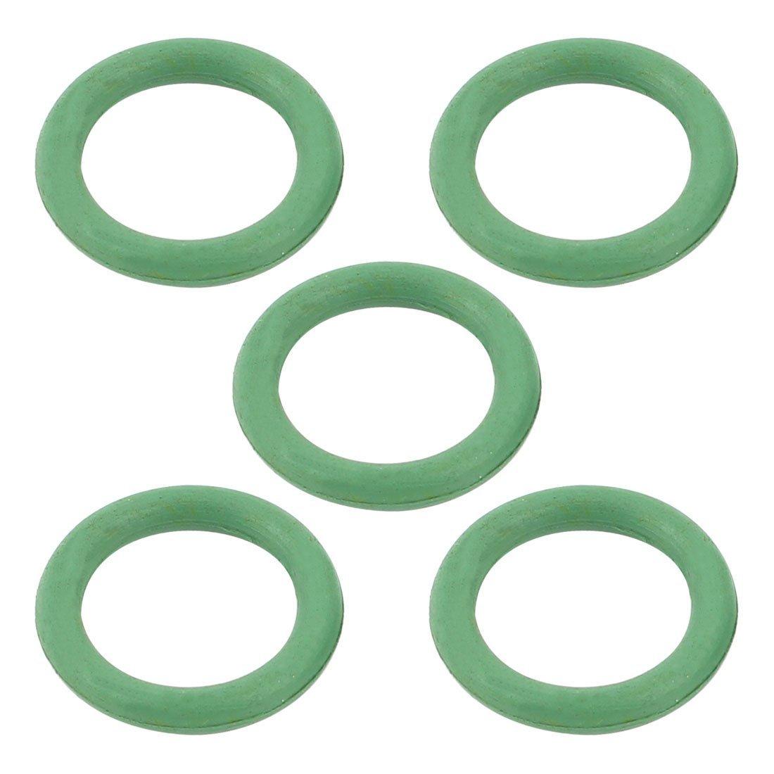 5Pcs 20mm x 14mm Rubber Oil Seal O Rings Gaskets Grommets Green DealMux DLM-B00VG3UW6W