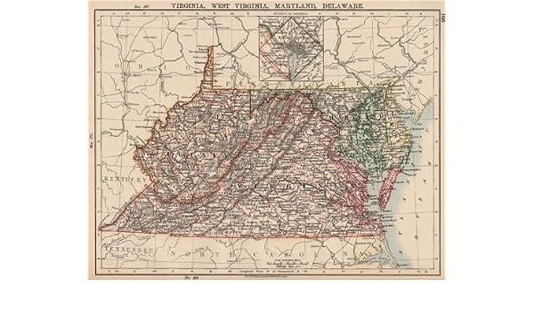 Amazon Com Us Mid Atlantic States Va West Virginia Maryland
