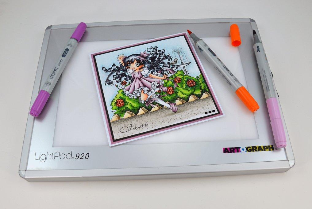 Artograph AG225.922 LightPad 920 Lavagna Luminosa a LED, 15x23 cm AR225-922