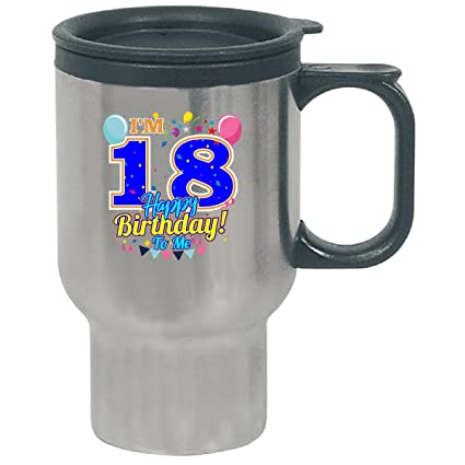 Amazon Im 18 Happy Birthday To Me 18th Gift
