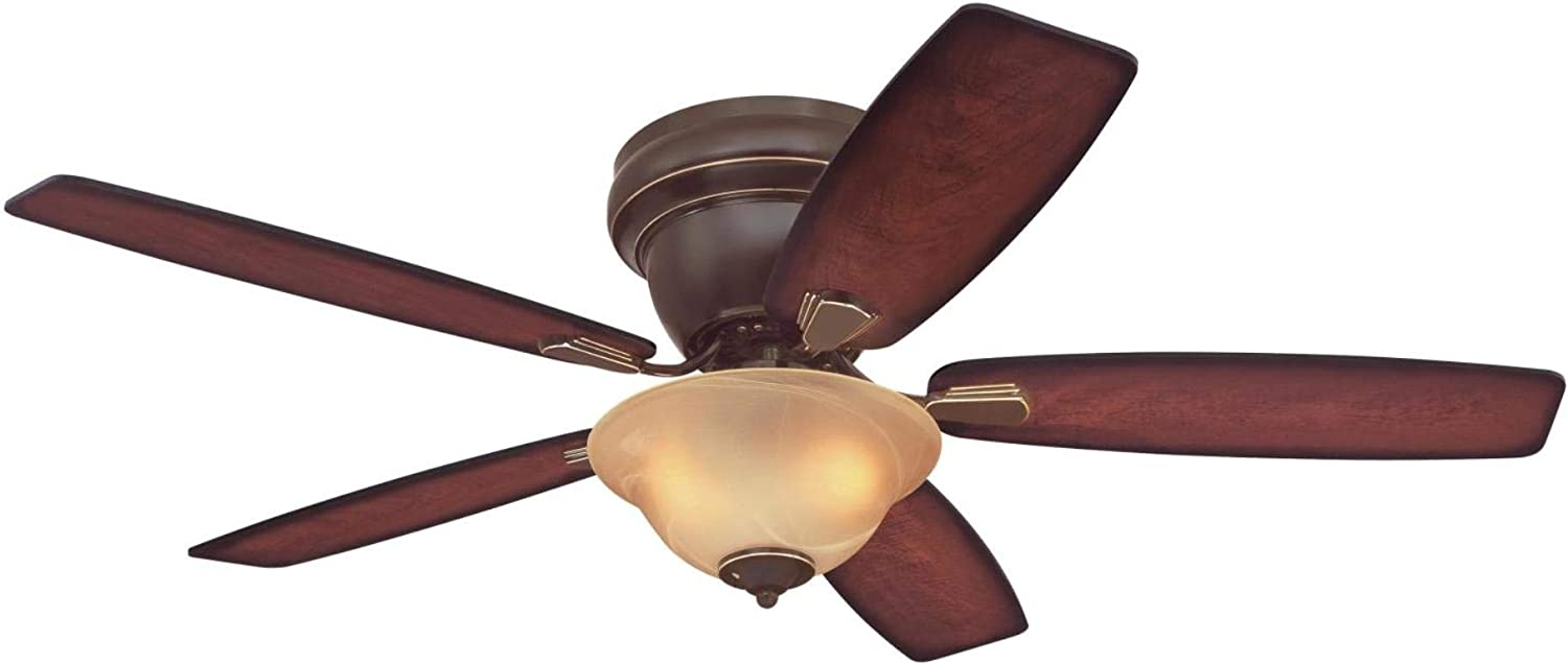 Westinghouse Lighting 7230600 Sumter Indoor Ceiling Fan with Light, LED, Classic Bronze