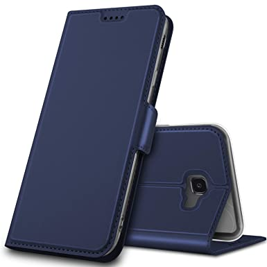 new style 93ae5 64f16 Geemai Samsung Galaxy J4 plus Case, Samsung Galaxy J4 plus Cover [Card  Holder] [Magnetic Closure] Premium Leather Flip Wallet Case Cover for  Samsung ...