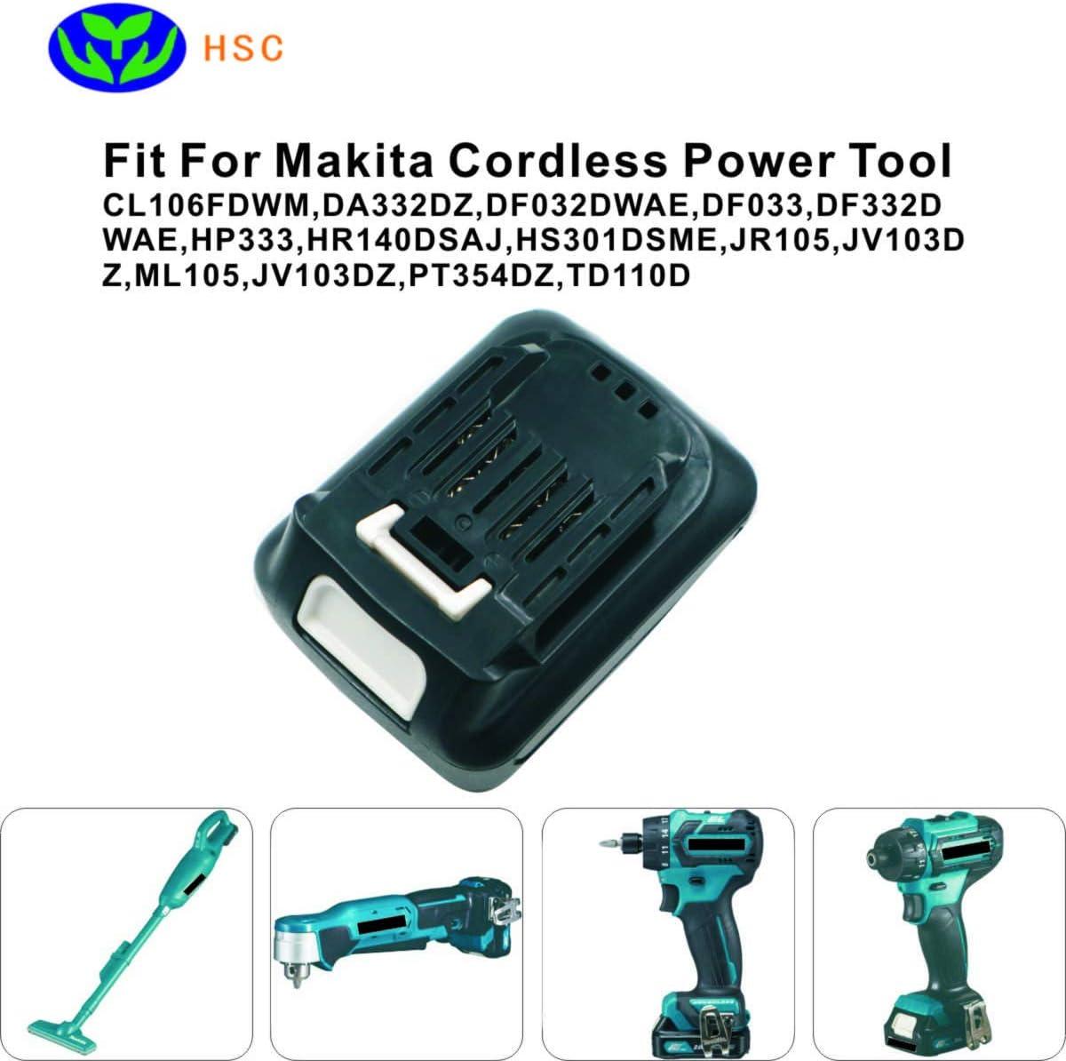 DF032D DF332 CLX201X DF331D AKKU 2000mAh 12V Li-Ion für Makita CLX201