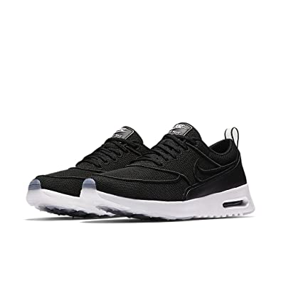 dd2a7bfc9b37d Nike Womens Air Max Thea Ultra SI Black Black-White-Glacier Blue 881119