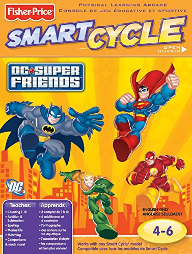 Fisher-Price Smart Cycle [Old Version] DC Super Friends Software Cartridge