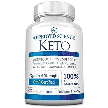 Approved Science® Keto: Pure Exogenous 4 Ketone Salts (Calcium, Sodium, Magnesium