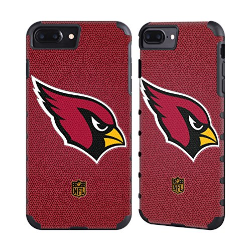 Official NFL Football Arizona Cardinals Logo Gold Gripper Case for Apple iPhone 7 Plus / iPhone 8 ()