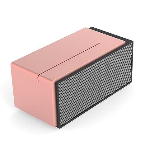 Altavoz portátil Bluetooth con micrófono/altavoz, cable, AUX, lector de tarjeta de