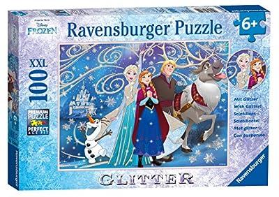 Ravensburger Disney Frozen - Glittery Snow Jigsaw Puzzle (100 Piece)