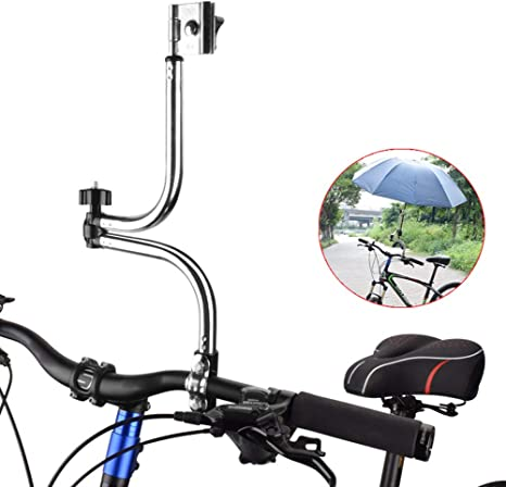 Byjia Bicicleta Paragüero, Acero Inoxidable Plegable Titular De ...