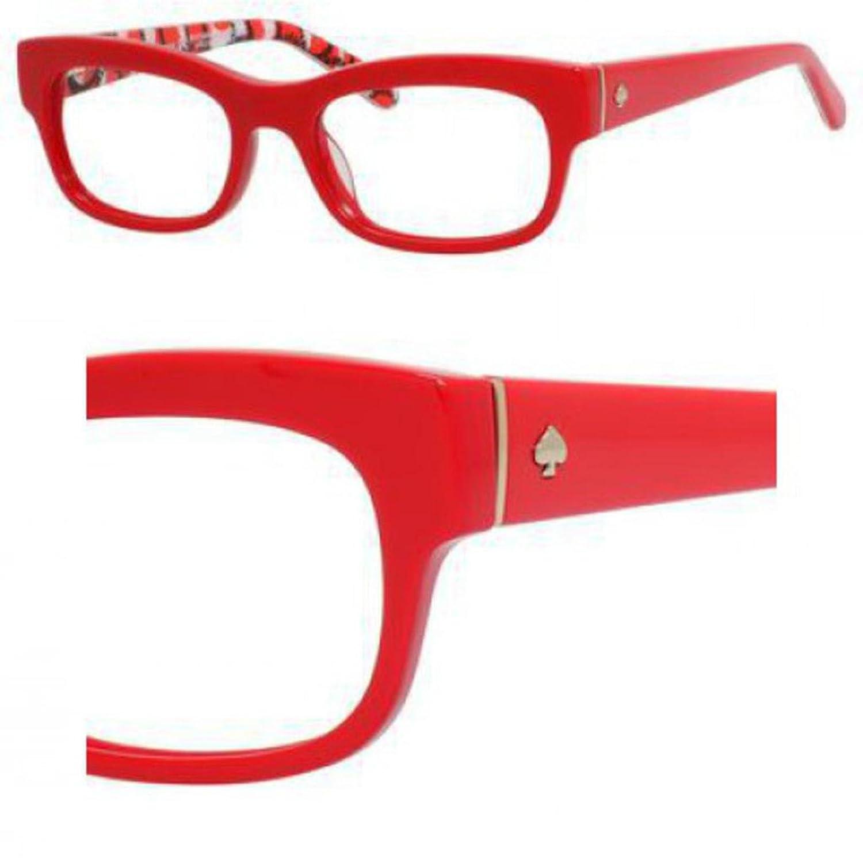 Eyeglasses Kate Spade Karena 0DQ8 Red Dots