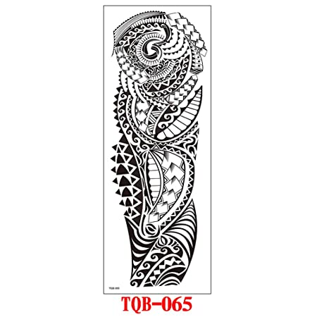 tzxdbh 2 Unids-Brazo Completo Etiqueta Engomada del Tatuaje ...