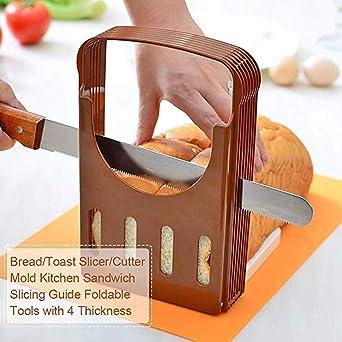 Cortador de pan - Cortador de pan plegable y ajustable para ...