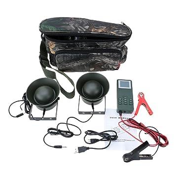 SmartEra® 2 altavoces 150 dB Amplificador 50w señuelo caza de aves al aire libre Máquina