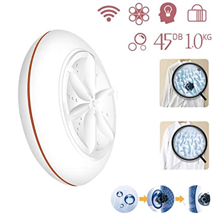 Amazon.com: MJLXY Mini lavadora USB, lavadora de ropa ...