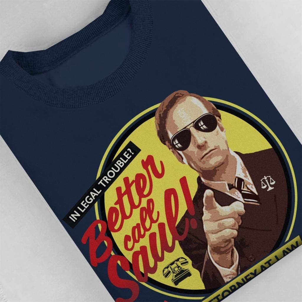 Cloud City 7 Better Call Saul Attorney At Law Mens Sweatshirt