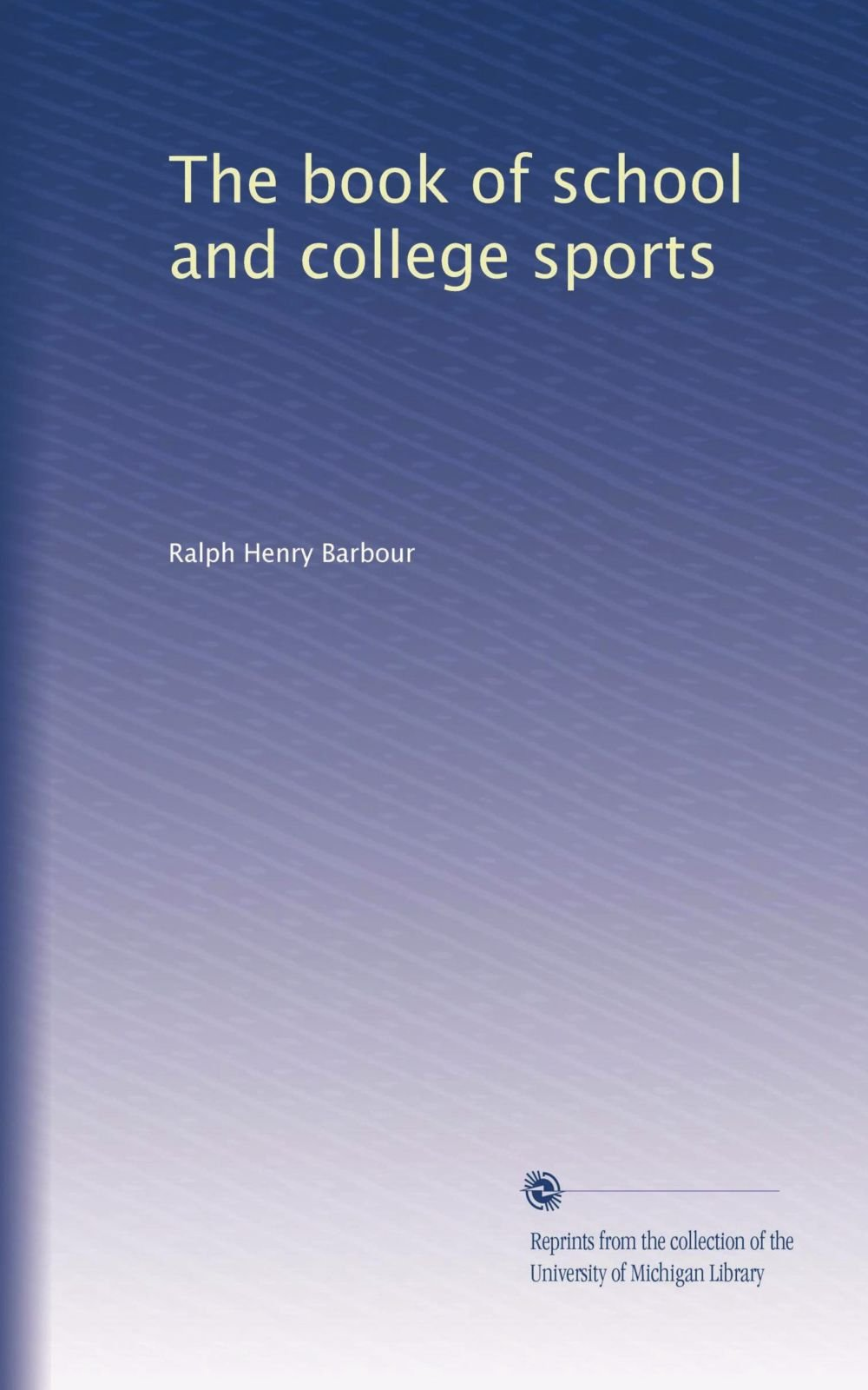 The book of school and college sports pdf epub