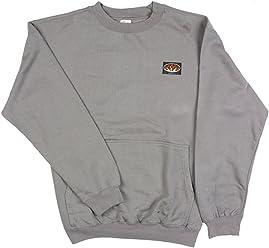 b90345a6586e Rasco FR Gray Sweatshirt - Hand-warmer Pockets 10 oz. Flame Resistant 100%