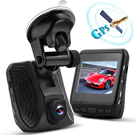 Night Vision Dashboard Camera Recorder Ambarella A12 Car Security DVR Parking Monitor Loop Recording with G-sensor and Motion Detection Supporting TF Card 4347662239 WHLZD 2K Super HD Car Dash Cam with GPS