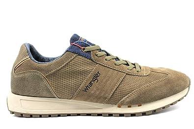 buy online 4d2d6 3ba1d Wrangler WranglerWM182121Taupe, Herren Sneaker, Beige ...