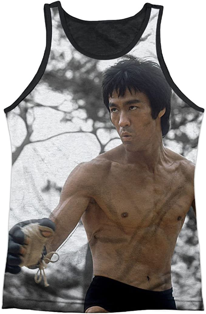 Bruce Lee Camiseta para hombre Manga corta Camiseta gr/áfica opaco