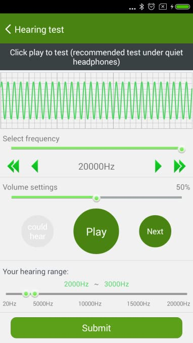 Amazon com: 4Free Hearing Measure: Appstore for Android