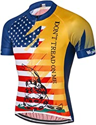 Weimostar Men s USA Cycling Jersey Short Sleeve Biking Shirts Breathable  with Pokects e5add6737
