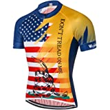 54cb0e468 Weimostar Men s USA Cycling Jersey Short Sleeve Biking Shirts Breathable  with Pokects