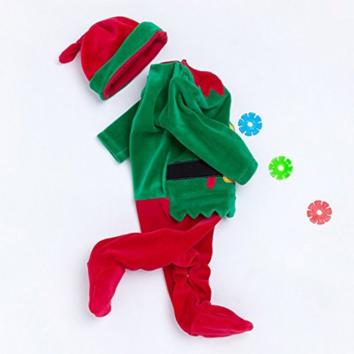 Baby Girls Or Boys Cotton Christmas Costumes Romper And Santa Hat Origami Dinosaurs Diagrams Embroidery Clothing Accessories