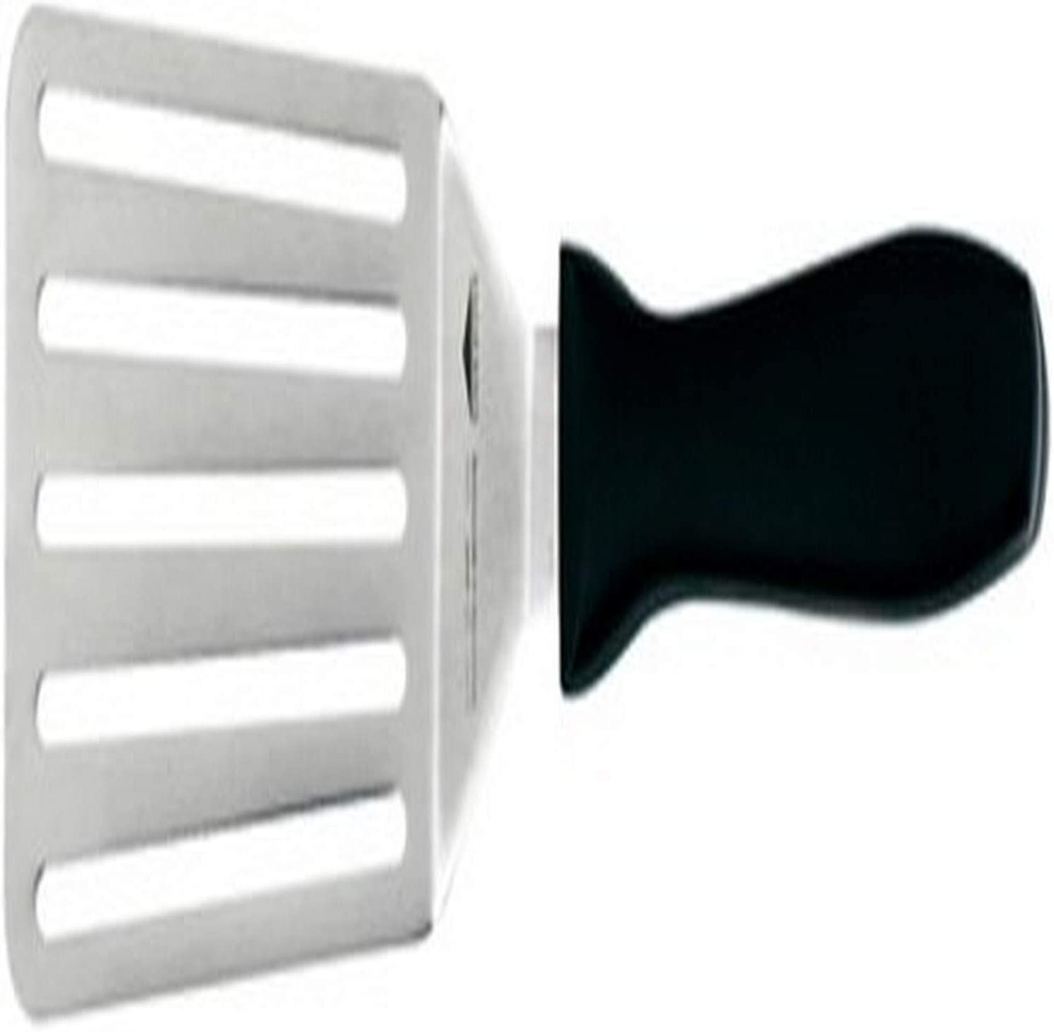 Paderno World Cuisine stainless steel slotted spatula 2 width 2 width 18509-02
