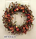 Mixed Apple Wreath