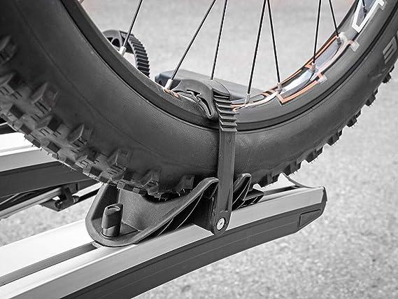 Eufab radstopper per Larghezza pneumatici fino a 3,25 pollici 2 pezzi per portabici EUFAB