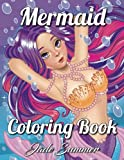 Mermaid Coloring Book: An Adult Coloring Book with Cute Mermaids, Fun Ocean Animals, and Relaxing Fantasy Scenes (Mermaid Gifts for Relaxation)