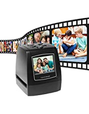 Aibecy Protable Negative Film Scanner 35mm 135mm Slide Film Converter Photo Digital Image Viewer with 512MB Built-in Memory Editing Software
