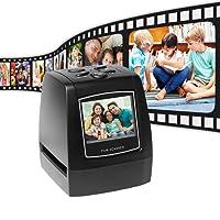 Aibecy Protable Negativscanner Diascanner 35mm 135mm Diafilm Konverter Foto Digital Image Viewer mit 512 MB Eingebauter Speicherbearbeitungssoftware