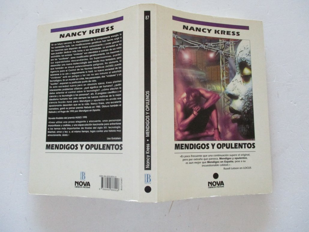 MENDIGOS Y OPULENTOS: Amazon.es: Kress,Nancy: Libros