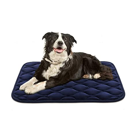 978ef66b391c AIPERRO Dog Crate Pad Washable Dog Bed Mat Dog Mattress Pets Kennel Pad for  Large Medium