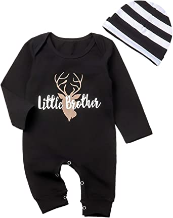 Newborn Baby Girls Boys Warm Romper Long Sleeve Bodysuit Jumpsuit Clothes Outfit