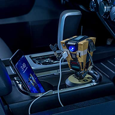 Borderlands Claptrap Car Charger