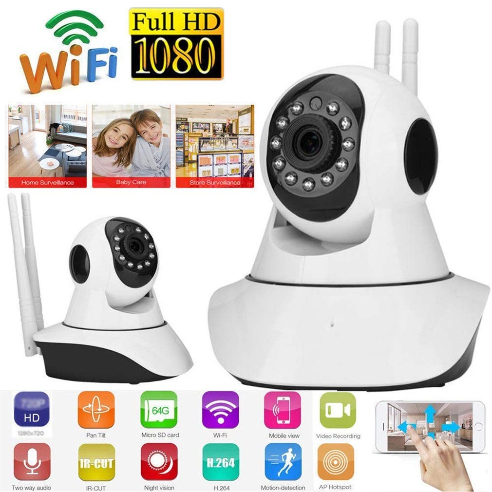 Security IP Camera WiFi/Wireless Network Mini Camera Surveillance Night Vision Cloud Indoor CCTV Camera
