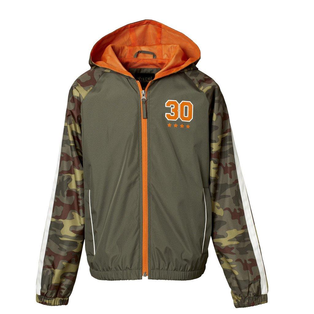 iXtreme Jacket For Big & Little Boys – Camo Print Hood & Sleeves, Mesh Lining