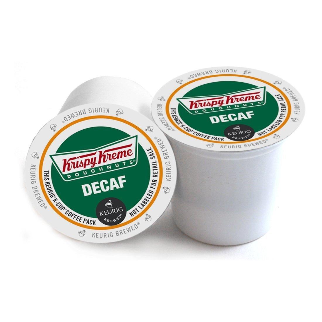 Krispy Kreme Doughnuts Decaf Keurig 2.0 K-Cup Pack, 108 Count