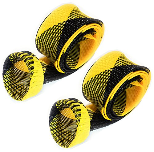 Rod Sock Yellow/Black (Flat-M-7)