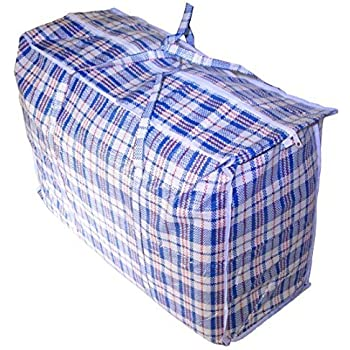 Amazon.com: Set of 3 Jumbo STORAGE LAUNDRY SHOPPING Bags with ...