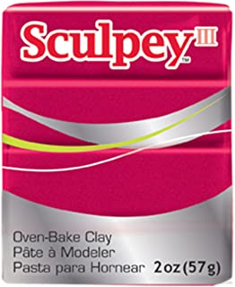 product image for Sculpey III Polymer Clay 2 Ounces-Deep Red Pearl