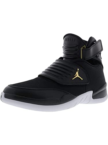 Nike Men s Jordan Generation 23 Black   - White Ankle-High Basketball Shoe  9M 0e3bae1df3